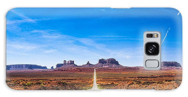 Southwest Usa Galaxy Case - View Of The Monument Valley And The by Offfstock