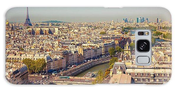 Attraction Galaxy Case - View On Paris Form Notre Dame Cathedral by S.borisov
