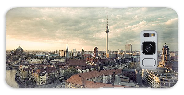 Angle Galaxy Case - View Over Berlin Mitte At Evening by Ar Pictures