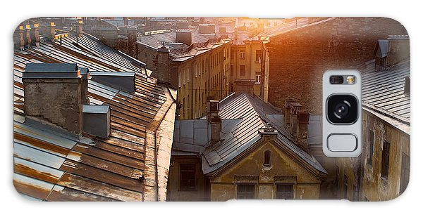 Historical Galaxy Case - View Over The Rooftops Of The Historic by De Visu