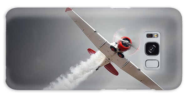 Fighter Galaxy Case - Vintage Airplane At High Speed by Johan Swanepoel