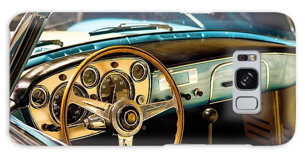 Vintage Blue Car Galaxy Case