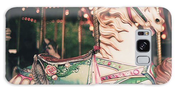 Decorative Galaxy Case - Vintage Carousel Horse by Andrekart Photography