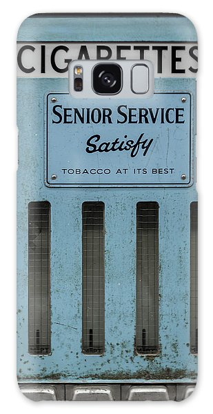 Senior Service Vintage Cigarette Vending Machine Galaxy Case