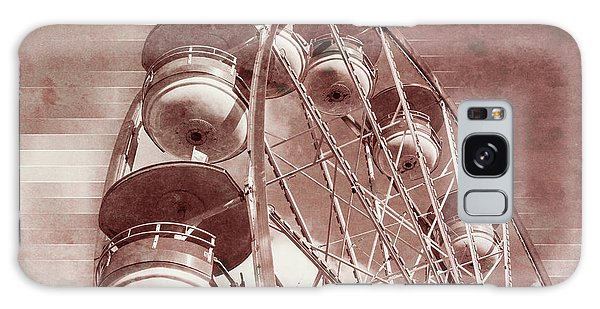 Vintage Ferris Wheel Galaxy Case