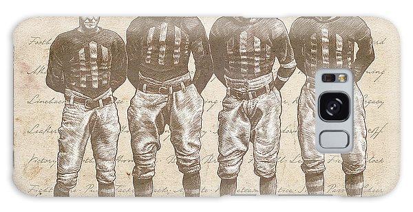 Vintage Football Heroes Galaxy Case