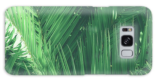 Vintage Palms I Galaxy Case