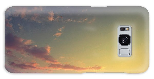 Dusk Galaxy Case - Vintage Picture. Sunset With Moon And by Vitalii Bashkatov