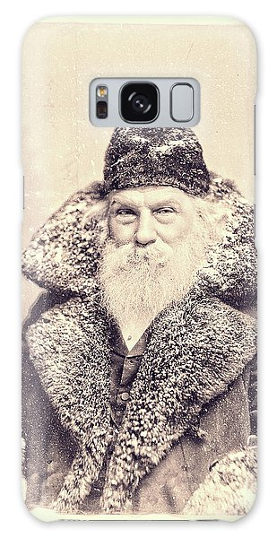 Santa Claus Galaxy Case - Vintage Santa Claus Portrait 11 by Edward Fielding