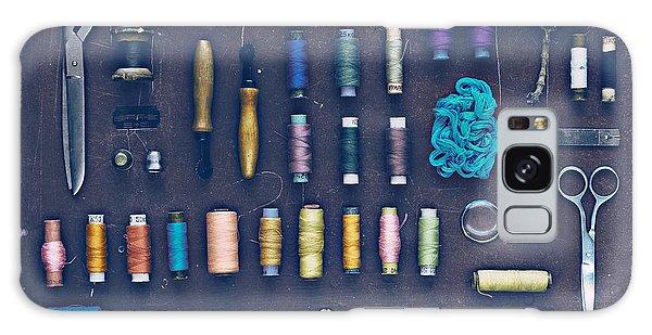Dress Galaxy Case - Vintage Set Of Designer Clothes On A by Evgeniya Porechenskaya