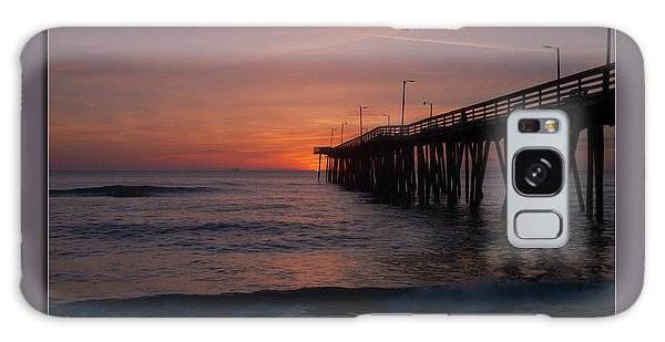 Virginia Beach Sunrise Galaxy Case