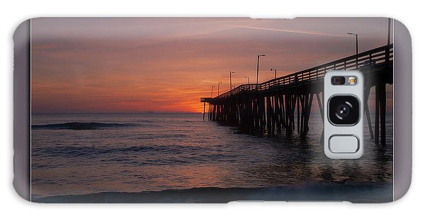 Virginia Beach Sunrise Galaxy Case
