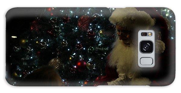 Visit With Santa Galaxy Case