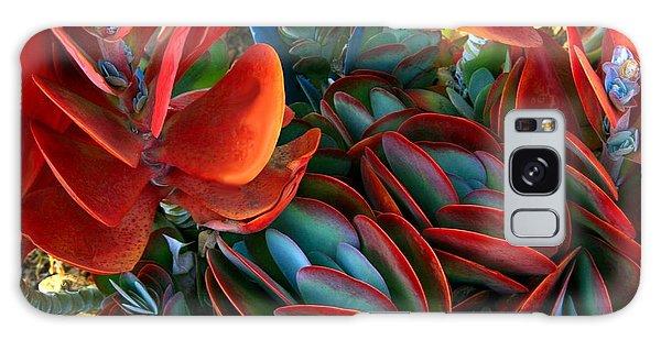 Vivid Paddle-leaf Succulent Galaxy Case