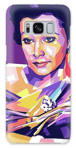 Vivien Leigh Pop Art Galaxy Case