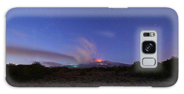 Volcano Etna Eruption Galaxy Case