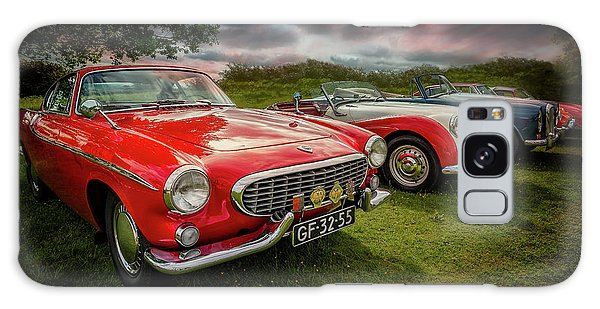 Galaxy Case - Volvo P1800 Classic Car by Adrian Evans