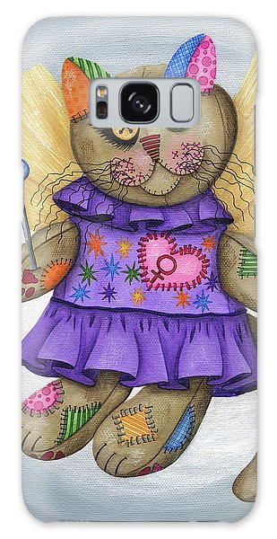 Voodoo Empress Fairy Cat Doll - Patchwork Cat Galaxy Case
