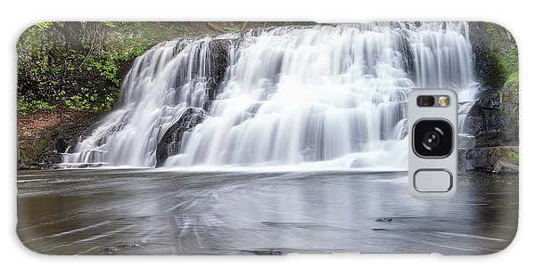 Wadsworth Falls In Middletown, Connecticut U.s.a.  Galaxy Case