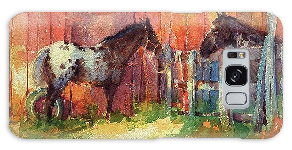 Country Living Galaxy Case - Waiting by Steve Henderson