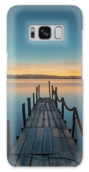 Galaxy Case featuring the photograph Walk Off by Bruno Rosa
