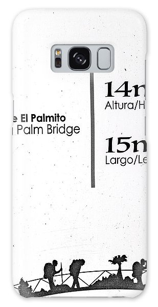 Language Galaxy Case - Walking Palm Bridge Sign by Betsy Knapp
