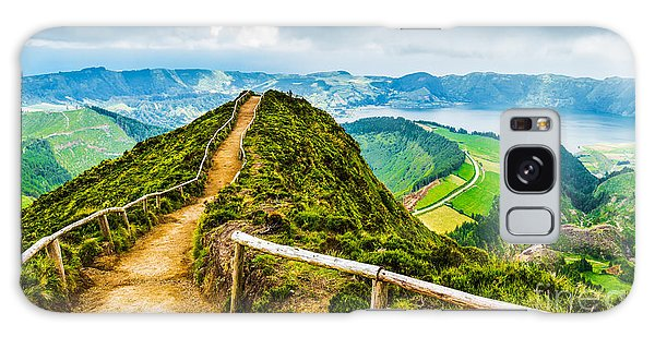 Dawn Galaxy Case - Walking Path Leading To A View On The by Vicky Sp