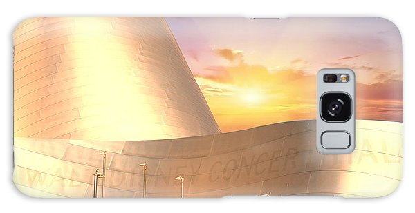 Walt Disney Concert Hall Galaxy Case - Wall Disney Concert Hall At Sunset by Art Spectrum