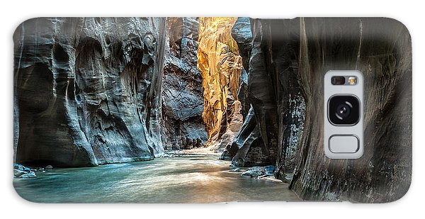 Southwest Usa Galaxy Case - Wall Street - Virgin River, Zion by Mattymeis
