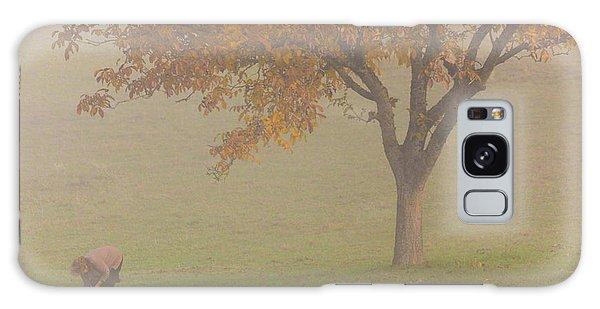 Galaxy Case featuring the photograph Walnut Farmer, Beynac, France by Mark Shoolery