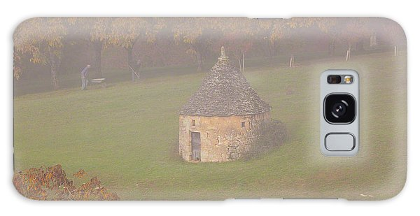 Galaxy Case featuring the photograph Walnut Farmers, Beynac, France by Mark Shoolery