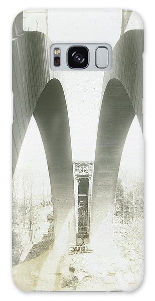 Walnut Lane Bridge Under Construction Galaxy Case