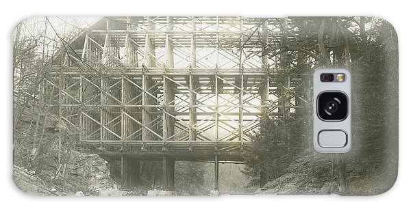 Walnut Lane Bridge Galaxy Case