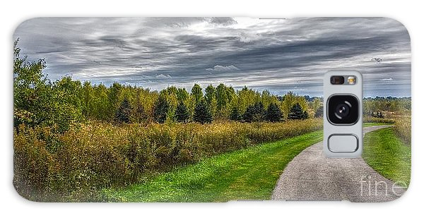 Walnut Woods Pathway - 2 Galaxy Case