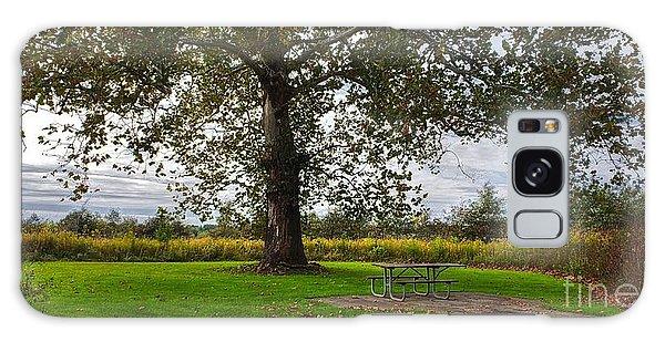 Walnut Woods Tree - 1 Galaxy Case