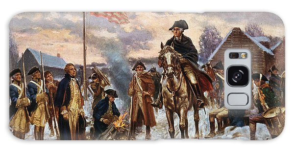 Hero Galaxy Case - Washington At Valley Forge by War Is Hell Store