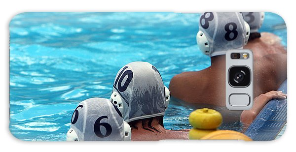 Bright Colors Galaxy Case - Water Polo Players Resting In A by Tanyast77