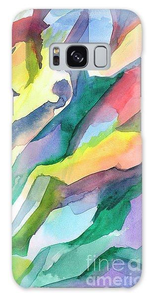 Watercolor Mosaic Galaxy Case