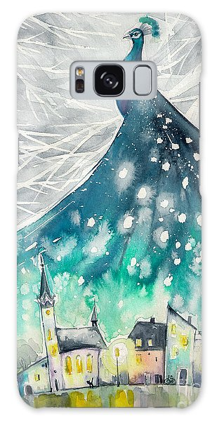 Nature Galaxy Case - Watercolors Abstract Illustration Of by Deepgreen