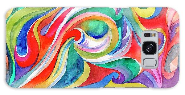 Watercolor's Swirl Galaxy Case