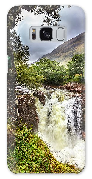 Fairy Pools Galaxy Case - Waterfall At The Ben Nevis Mountain by Debra and Dave Vanderlaan