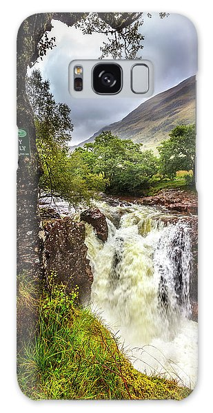 Fairy Pools Galaxy S8 Case - Waterfall At The Ben Nevis Mountain by Debra and Dave Vanderlaan