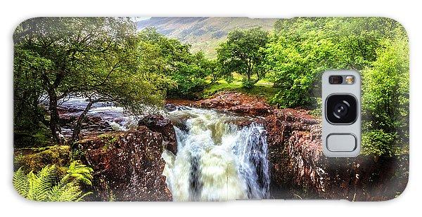 Fairy Pools Galaxy Case - Waterfall Beneath The Ben Nevis Mountain by Debra and Dave Vanderlaan