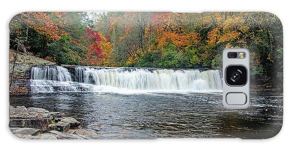 Waterfall In Autumn Galaxy Case