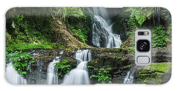 Ecology Galaxy Case - Waterfall In Lamington National Park In by Robdimagery