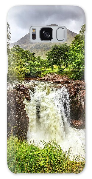 Fairy Pools Galaxy Case - Waterfall Under The Mountain by Debra and Dave Vanderlaan
