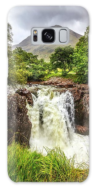 Fairy Pools Galaxy S8 Case - Waterfall Under The Mountain by Debra and Dave Vanderlaan
