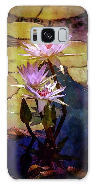 Waterlily Bouquet 2922 Idp_6 Galaxy Case