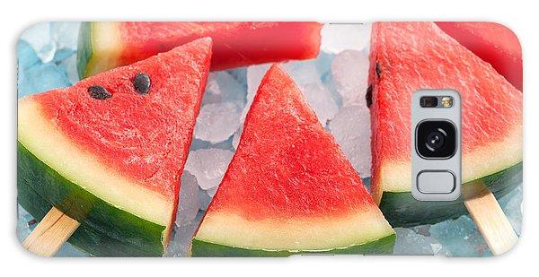 Tasty Galaxy Case - Watermelon Popsicle Raw Food Yummy by Rukxstockphoto