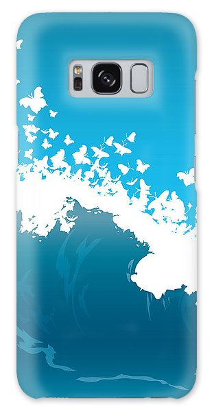Environments Galaxy Case - Wave Illustration by Mire